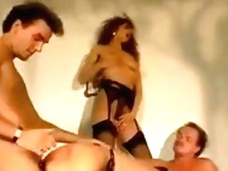 Four Horny People Sucking