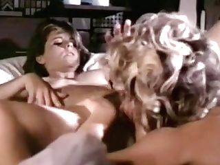 Horny Blonde G/g Licks Hairy Poon Of Her Youthful Sexmate