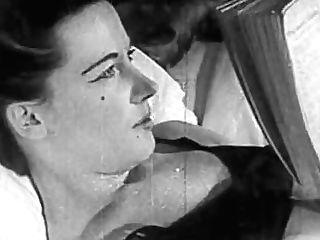 Authentic Antique Porno 1950s - Hairless Cunny, Peep Freak Fuck