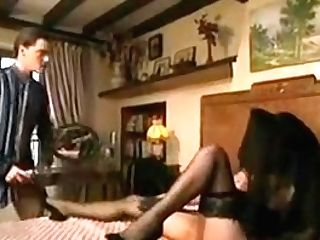 Classical French Scenes - Ladies In Basque & Stockings